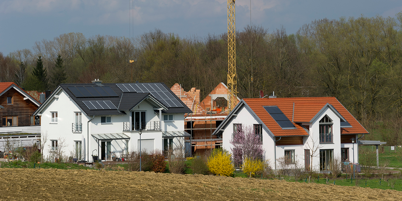 Viele Einfamilienhäuser stehen leer | Die Volkswirtschaft